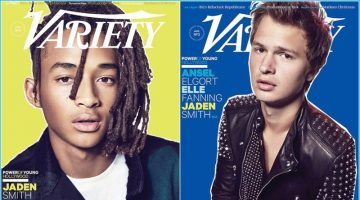 Jaden Smith & Ansel Elgort Cover Variety's Young Hollywood Issue