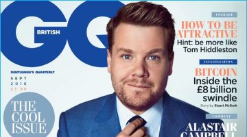 James Corden Covers British GQ, Talks Carpool Karaoke