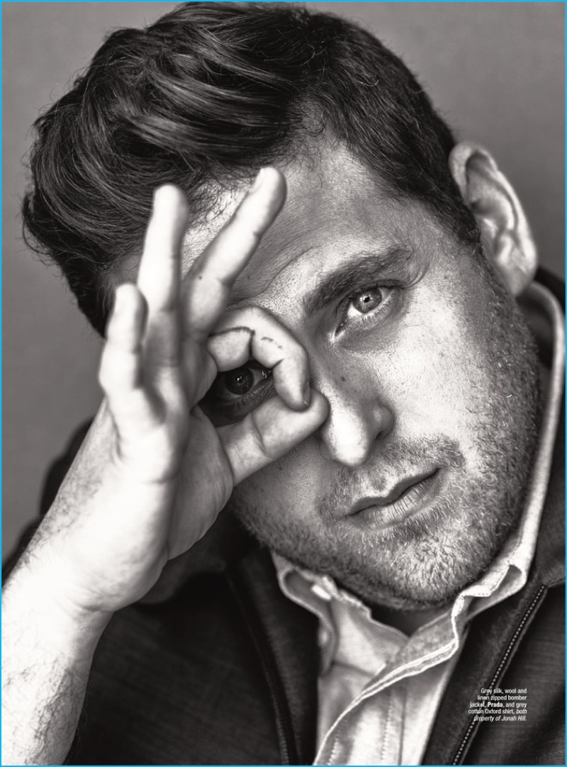 Jonah Hill photographed by Alexei Hay for The Rake magazine.