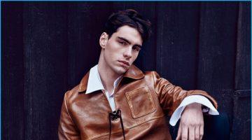 Jonathan Bauer-Hayden is Sailor Chic in Prada for A&E Magazine