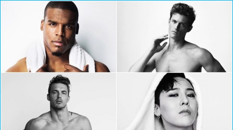 G-Dragon, Cam Newton + More Pose for Mario Testino's Towel Series