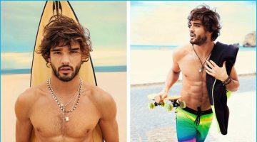 Marlon Teixeira Embraces Surfer Style for Mormaii