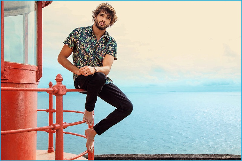 marlon teixeira embraces surfer style for mormaii the
