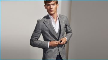 Massimo Dutti Showcases Elegant Lines for Latest from Personal Tailoring Collection
