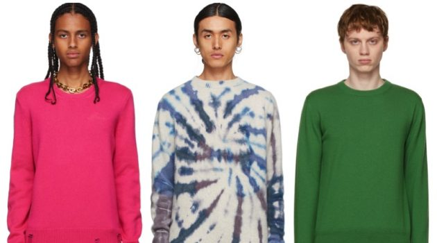 Men's Cashmere Sweaters from SSENSE