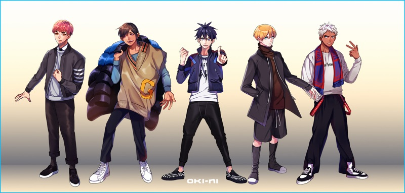 Oki-ni  takes inspiration from Pokémon Go, delivering stylish avatars for fall-winter 2016.