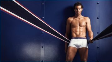 Rafael Nadal Reunites with Tommy Hilfiger for New Underwear Campaign