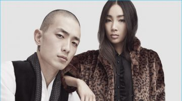 Sung Jin Park & Will Chalker Join The Kooples for Fall Campaign