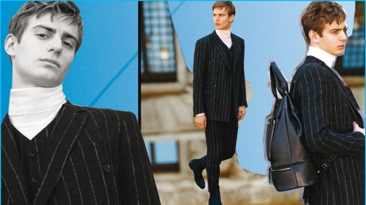 Trussardi Embraces Cut & Paste Collage for Fall Campaign