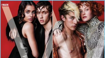 Lucky Blue Smith & Troye Sivan Cover V's Music Issue