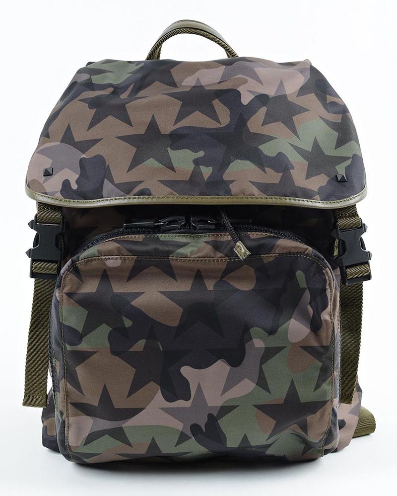 Valentino Garavani Nylon Stars Backpack
