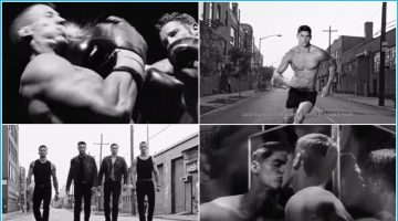 18 GIFs from Versace's Dylan Blue Fragrance Campaign Video