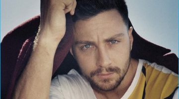 Aaron Taylor-Johnson Poses for L'Uomo Vogue, Talks 'Nocturnal Animals'