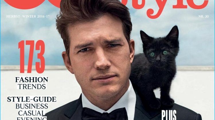 Ashton Kutcher Goes Formal for GQ Style Germany Cover