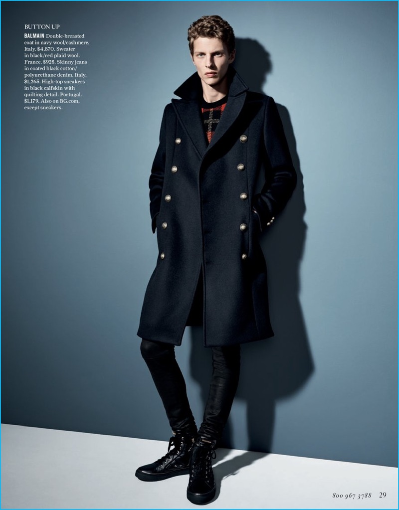 factory authentic classic styles arriving Bergdorf Goodman 2016 Fall/Winter Men's Catalogue   The ...