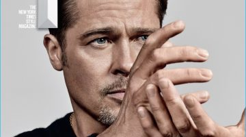 Brad Pitt Covers T Magazine, Talks Donald Trump