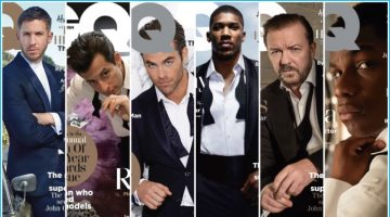 Calvin Harris, Chris Pine + More Cover British GQ's 2016 Men of the Year Issue