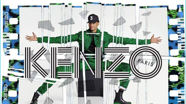Chance the Rapper Models Kenzo x H&M Jumpsuit for New Campaign
