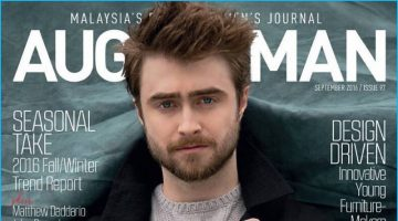 Daniel Radcliffe Covers August Man, Talks Staying Grounded
