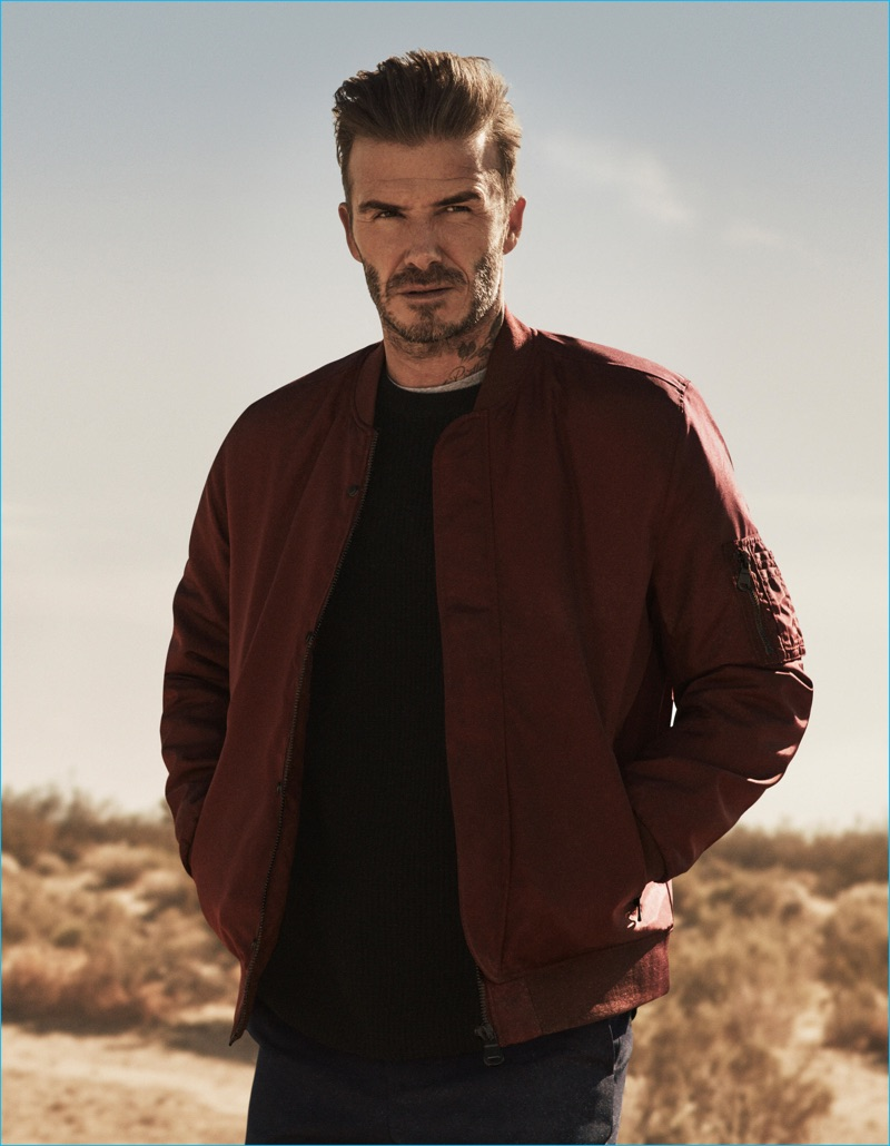 David beckham kevin hart 2016 h m fall winter campaign - David beckham ...
