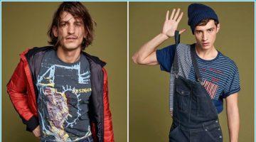 Adrien Sahores & Jarrod Scott Star in Playful Desigual Outing