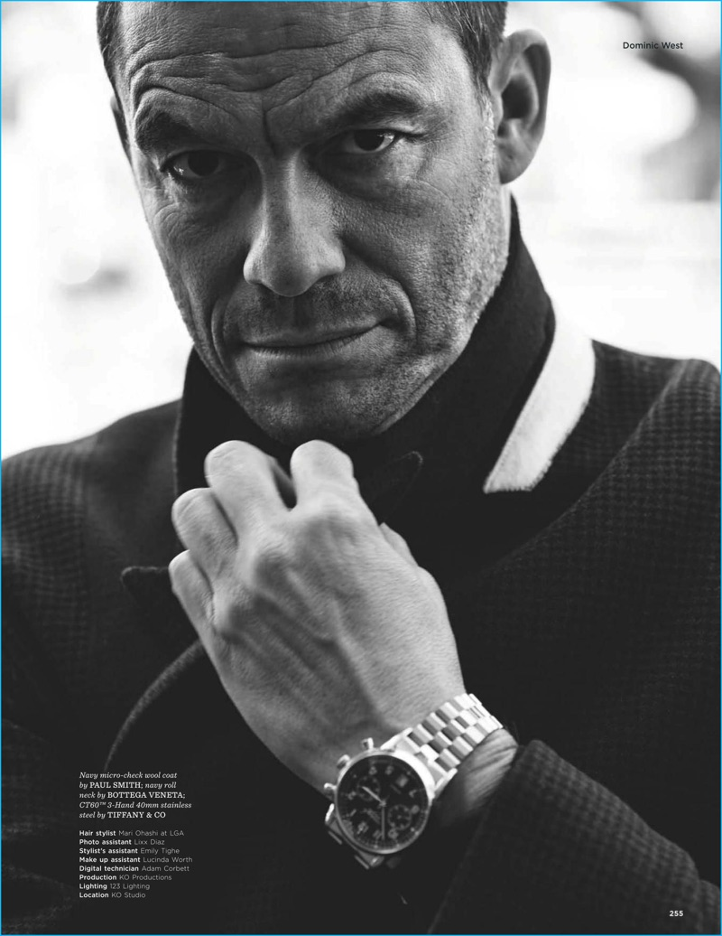 Dominic West Embraces Classic Styles For British Gq Style Shoot-1927