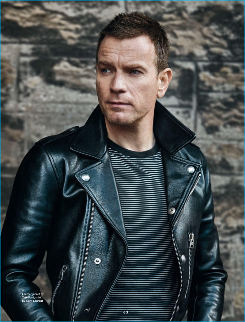 Ewan Mcgregor Covers Bloomberg Pursuits Dishes On Love