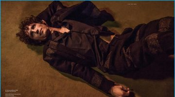 Live This Way: Roch Barbot Models Fendi's Luxurious Fall Highlights for Essential Homme