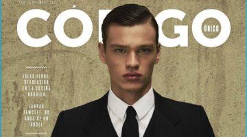 Filip Hrivnak Means Business in Sharp Suits for Codigo Unico