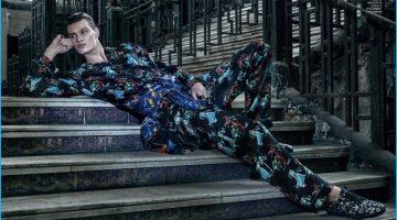 Filip Hrivnak Dons Eclectic Fashions for GQ Brasil Spread