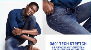 The New Science of Stretch: H&M Spotlights 360 Tech Stretch Denim Jeans