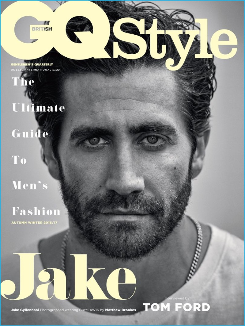 jake gyllenhaal covers british gq style interviewed by tom ford