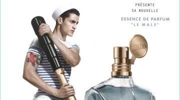 Chris Bunn Stars in Jean Paul Gaultier's Le Male Essence de Parfum Fragrance Campaign