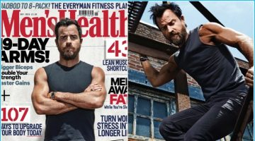 Justin Theroux Covers Men's Health UK, Talks Style & Being Fit