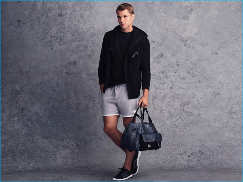 Kacey Carrig is front and center in sporty styles from 2(X)IST.