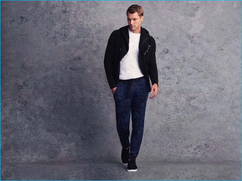 Kacey Carrig models active clothing from 2(X)IST's current lineup.