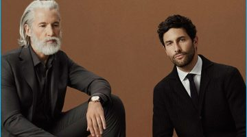 Noah Mills, Hao Yun Xiang & Aiden Brady Don Massimo Dutti's Contemporary Tailoring