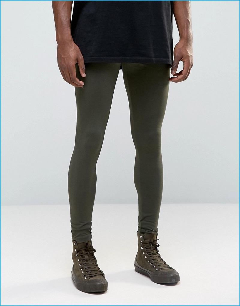 ASOS Men's Khaki Leggings