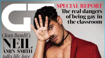 Neil Amin-Smith Covers Gay Times, Talks Race & Sexuality