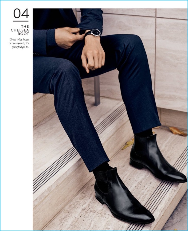 7c42d2d56d48 The Chelsea Boot  Ben Hill rocks To Boot New York black chelsea boots with  AG s