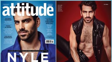 Nyle DiMarco Covers Attitude, Rocks Denim & Leather