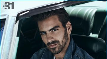 Nyle DiMarco Sports Denim & Indigo Blues for Simons