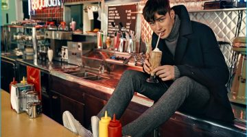 Original Penguin Takes to Diner for Fall Campaign