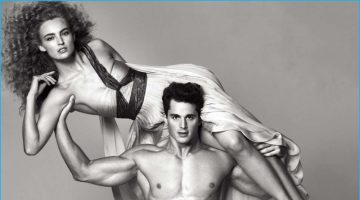 Pietro Boselli Goes Nude for Ladies Magazine Photo Shoot