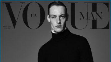 Roberto Sipos Covers Vogue Ukraine Man, Models Chic Fall Fashions