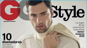 Sean O'Pry Dons Gucci for GQ Style Mexico Cover Shoot