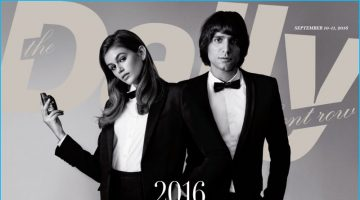 Sebastian Faena Covers The Daily Front Row with Kaia Gerber