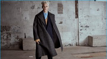 Oliver Stummvoll Rocks the Fall Collections for Simons
