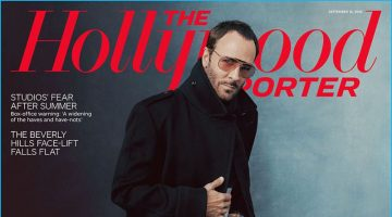 Tom Ford Covers The Hollywood Reporter, Talks Americans & Fashion