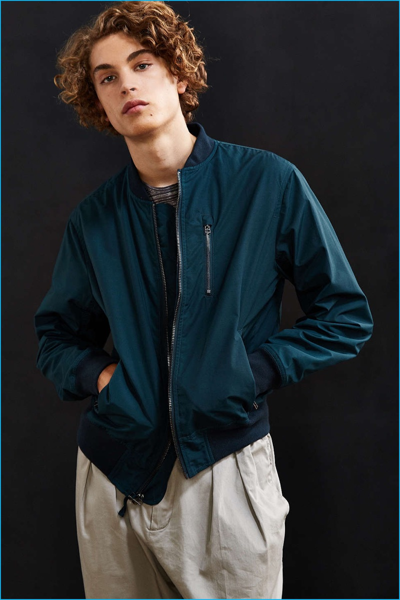 3723debb2 Men's Bomber Jackets 2016: Urban Outfitters Style | The Fashionisto